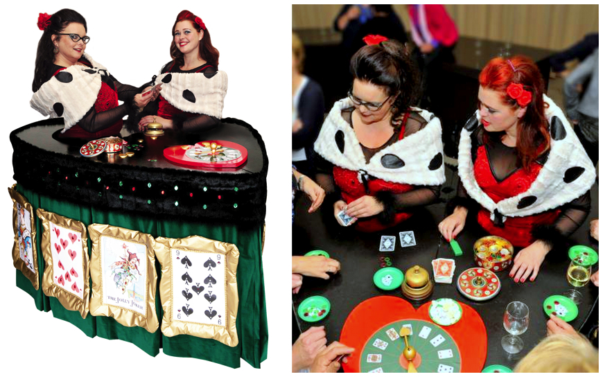 Mobiele Casinotafel  (Moving Table act)