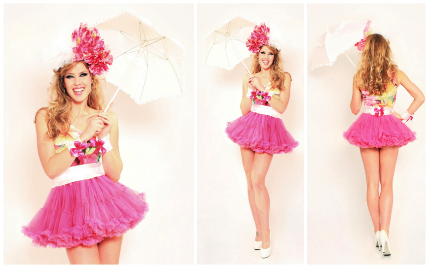 Pink Flower Girls - (Modellen S22)