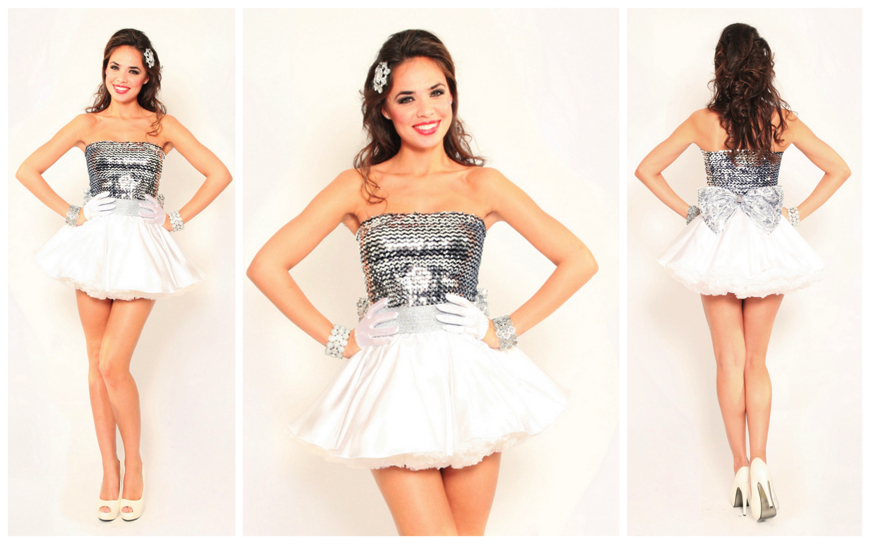White Silver Hostess Girls - (Modellen S23)