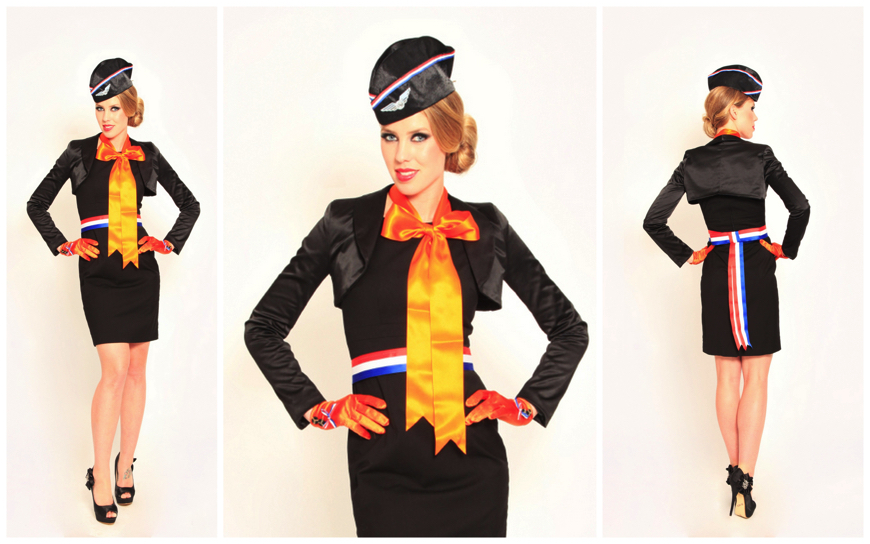 Dutch Black Stewardesses - (Modellen S45)