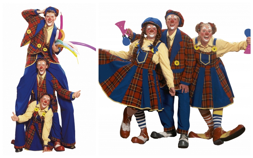 Gekke Clowns - (Kinder Entertainment)