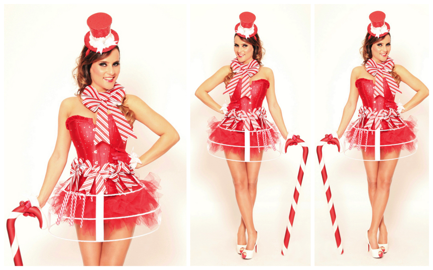 Christmas Girls in Rood - (Modellen S34)